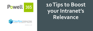 Ten tips to boost your intranet's relevancy