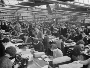 1930s typing pool