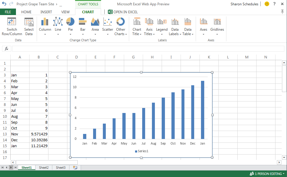 Excel Web App in SharePoint 2013