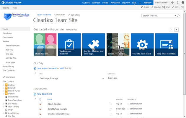 Sharepoint 2013 For Collaboration Clearbox Consulting