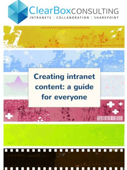 Creating intranet content: a guide for everyone.