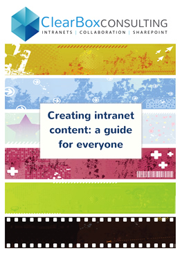 Creating intranet content