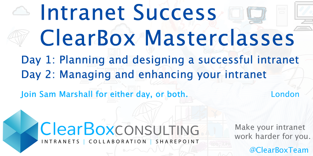 Intranet success masterclasses