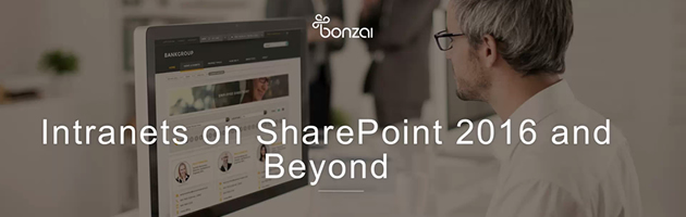 Intranets on SharePoint 2016 – webinar video