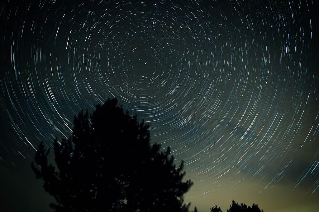 Stars timelapse