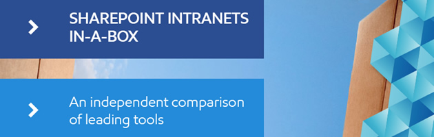 SharePoint intranet-in-a-box products compared