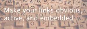 How to make useful hyperlinks on your intranet