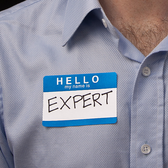 Hello, my anme is 'Expert'