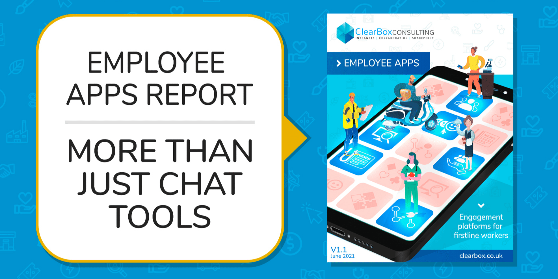 Employee apps - more than just chat tools.