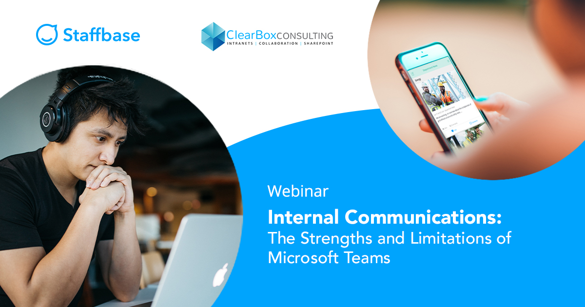 Strengths and limitations of Microsoft Teams for communications.