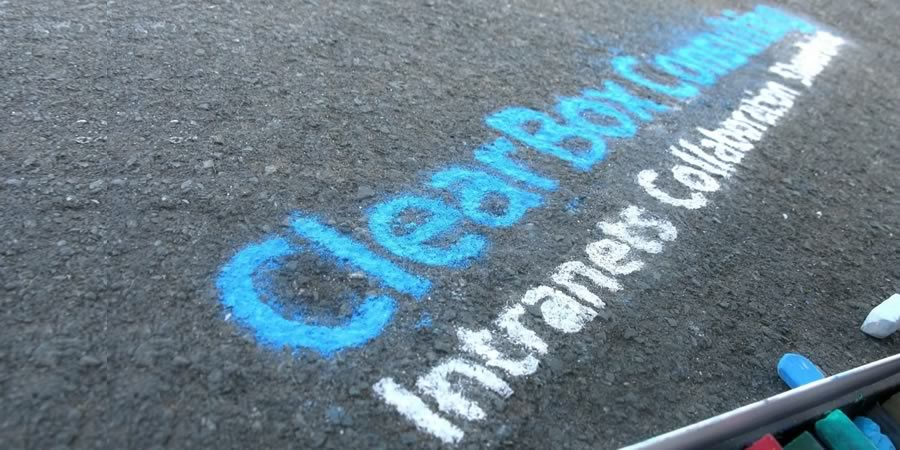 ClearBox Consulting written in chalk.