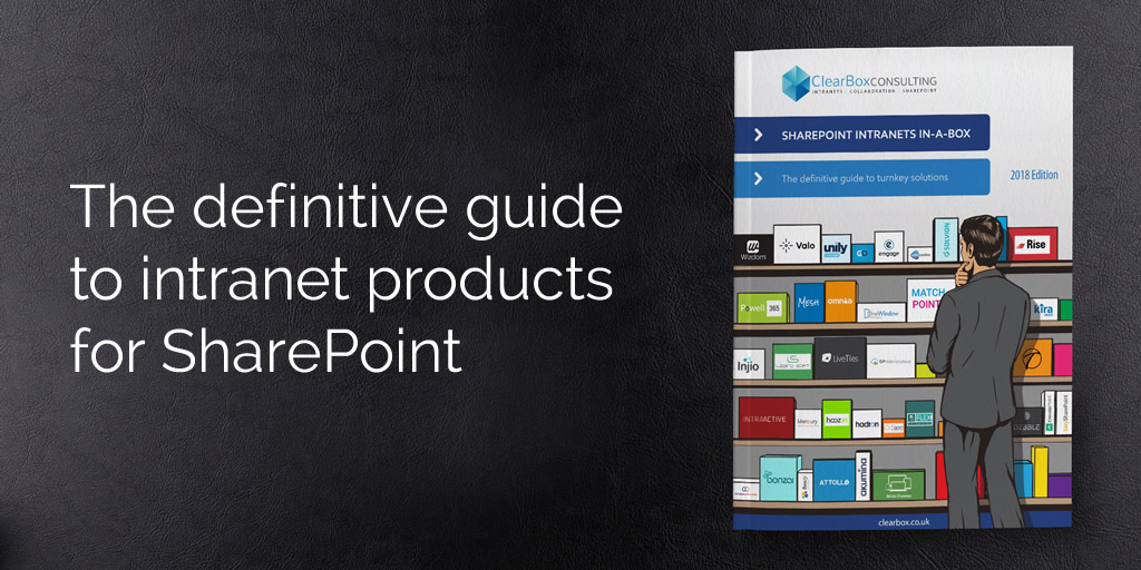 The definitive guide to intranet products for SharePoint