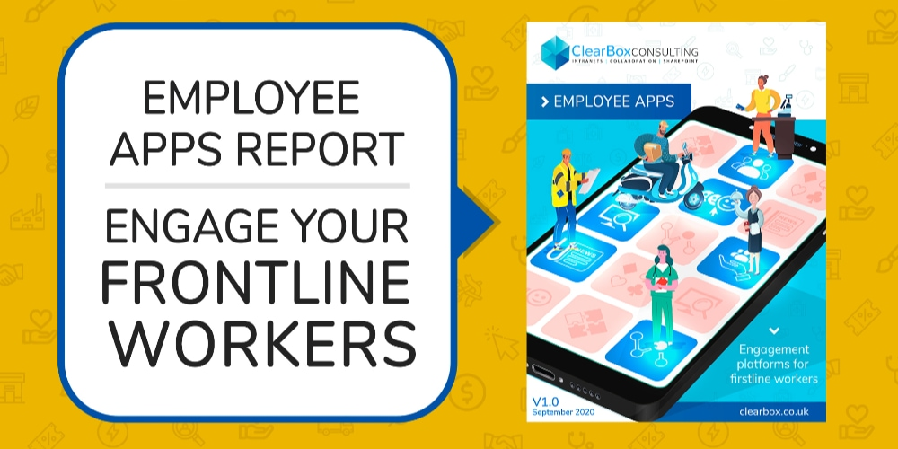 Employee apps report. Engage your frontline workers.