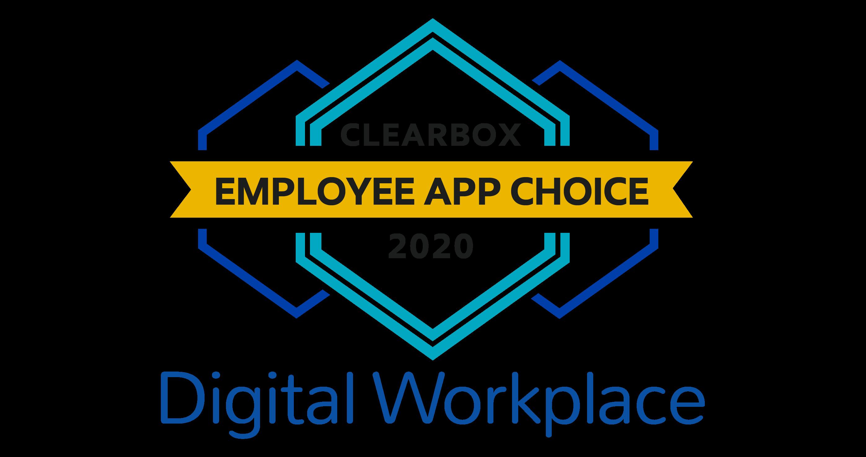 Employee app choice digital workplace 2020.