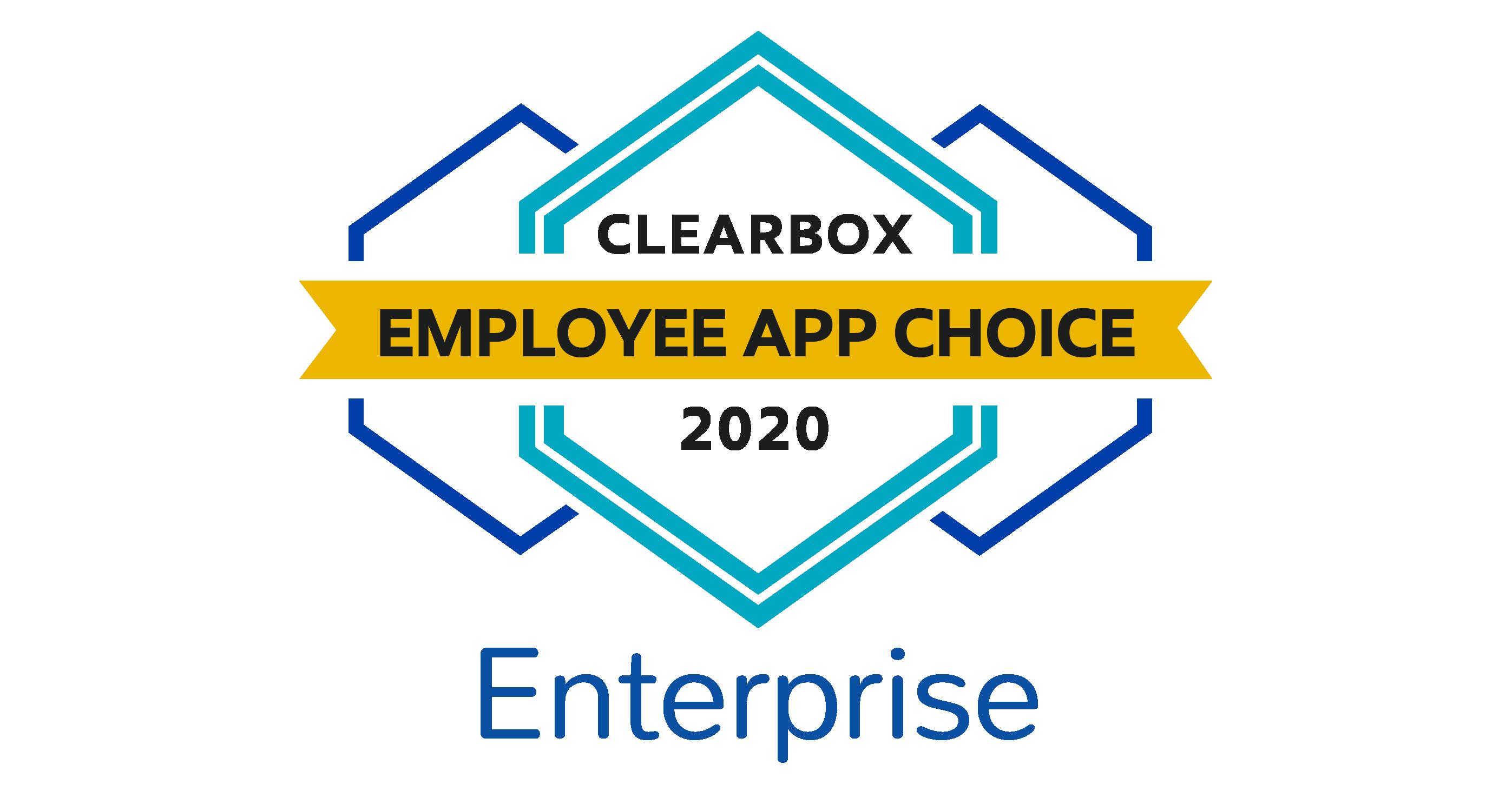 Employee app choice enterprise 2020.
