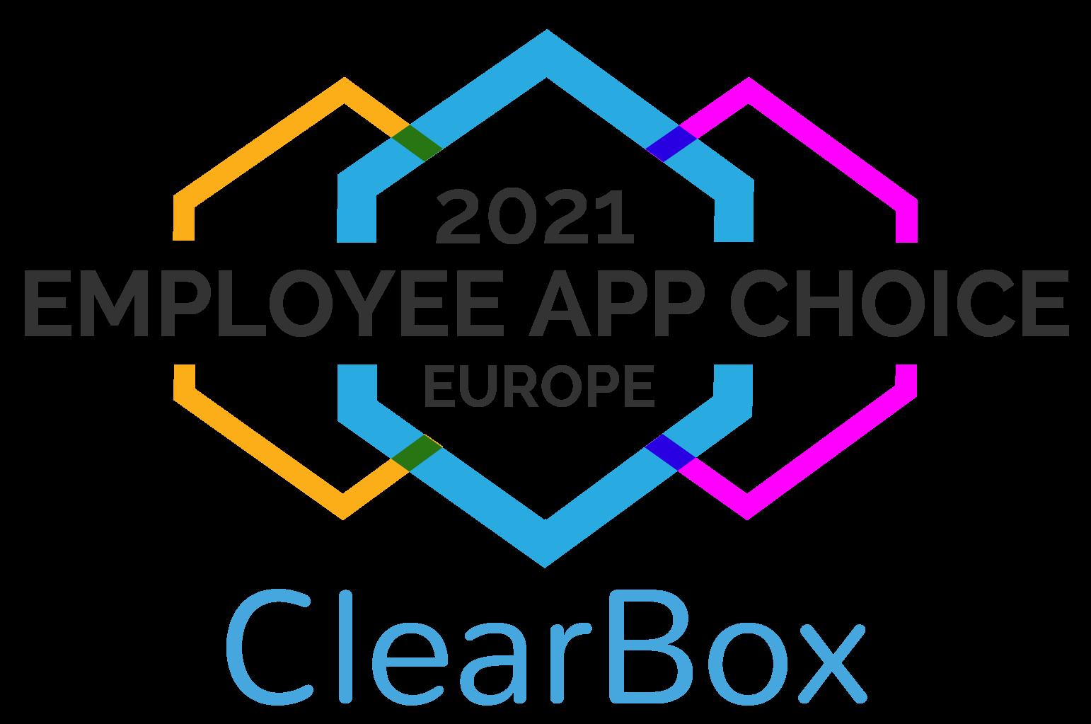 Employee app choice Europe 2021.