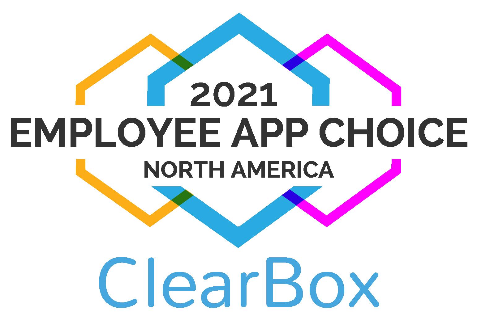 employee app choice North America 2021.
