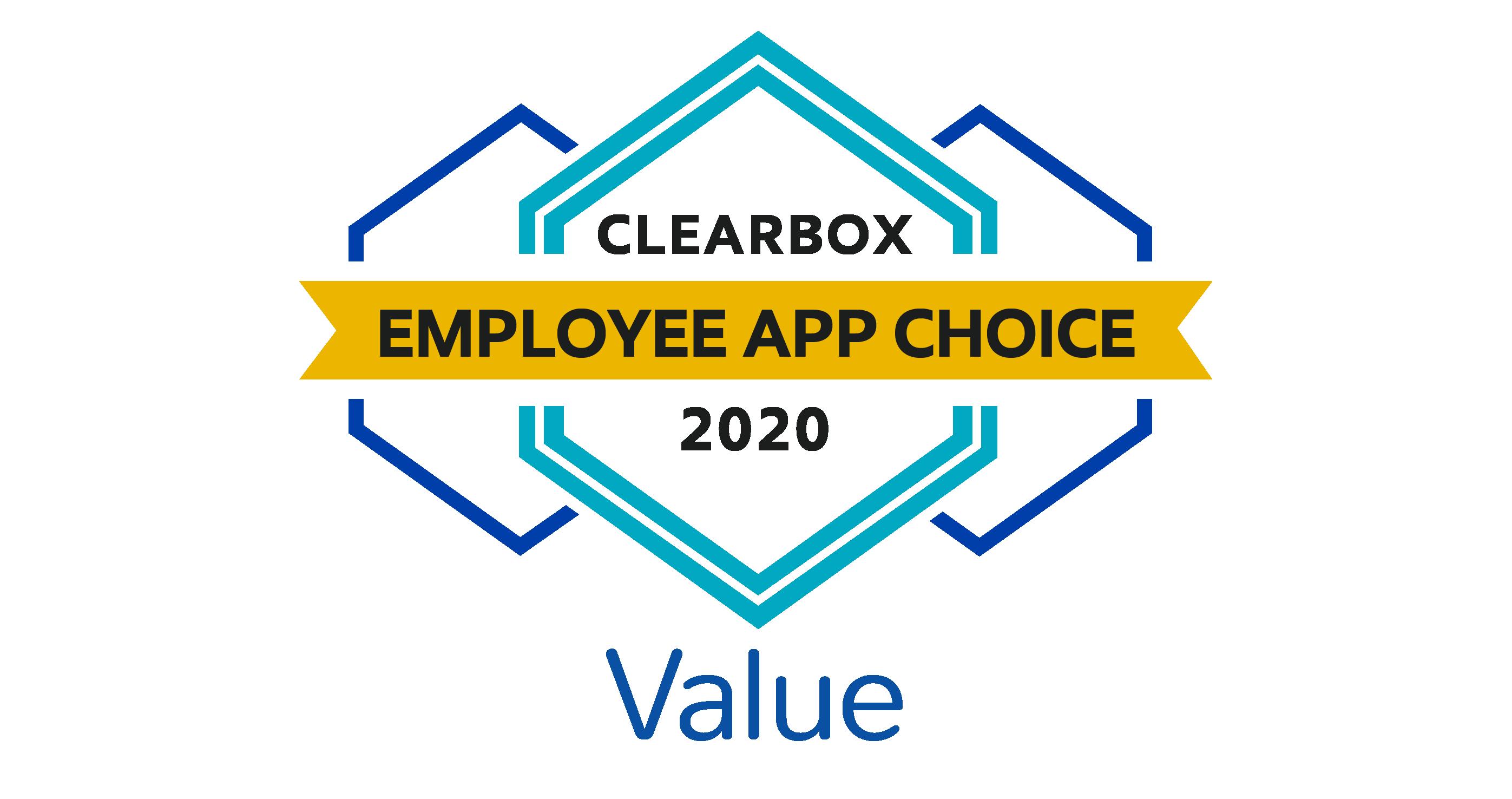 Employee app choice value 2020.