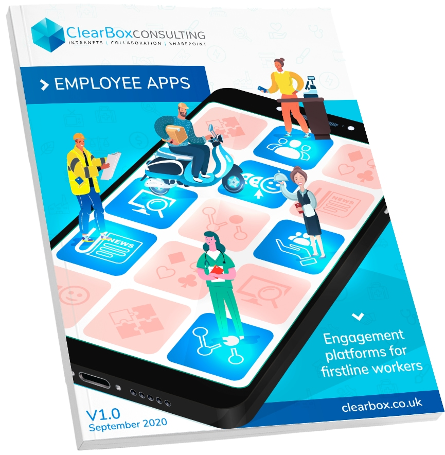 The new ClearBox employee app report.