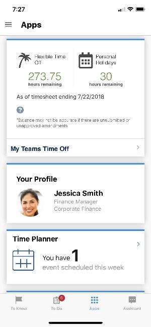 Timesheet app.