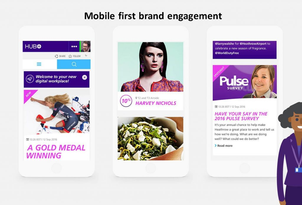 Mobile-first brand.