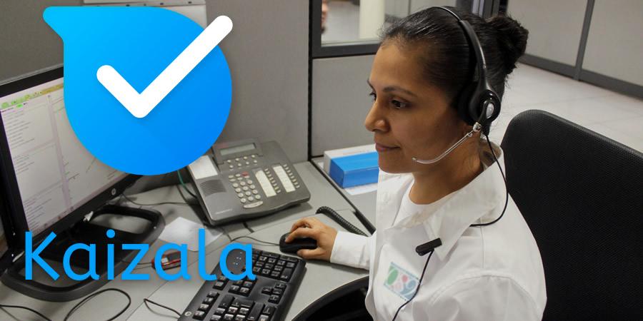 Call centre.