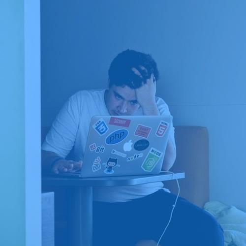 laptop user.