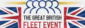 Logo: The great british fleet event.