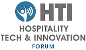 Logo: HTI Hospitality tech and innovation forum.