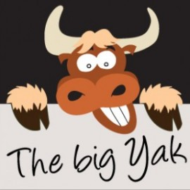 Logo: The Bug Yak
