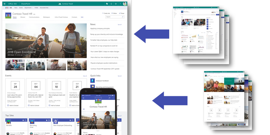 Hub Sites Raise SharePoint S Intranet Potential ClearBox Consulting