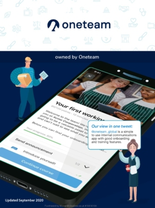 Flex-Appeal employee app in the ClearBox report.