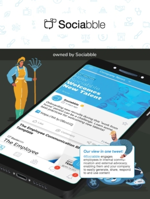 Sociabble employee app in the ClearBox report.