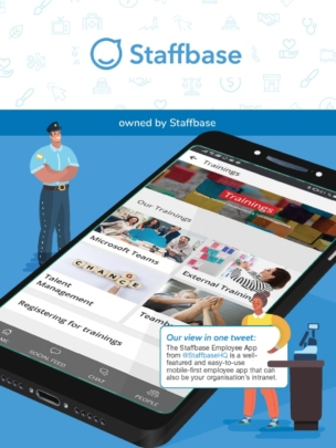 Staffbase employee app in the ClearBox report.