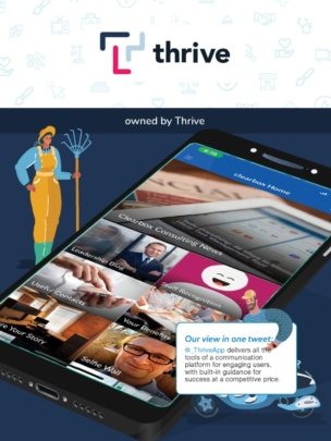 Thrive employee app in the ClearBox report.