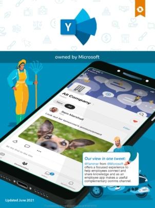 Yammer app in the ClearBox report.