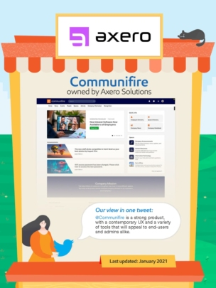 Communifire intranet.
