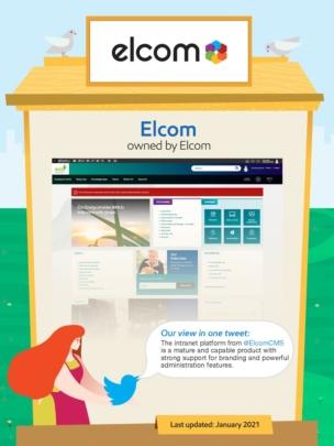Elcom intranet.