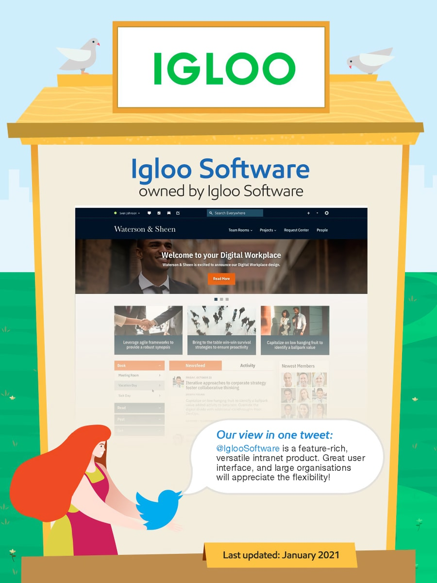 Igloo intranet.