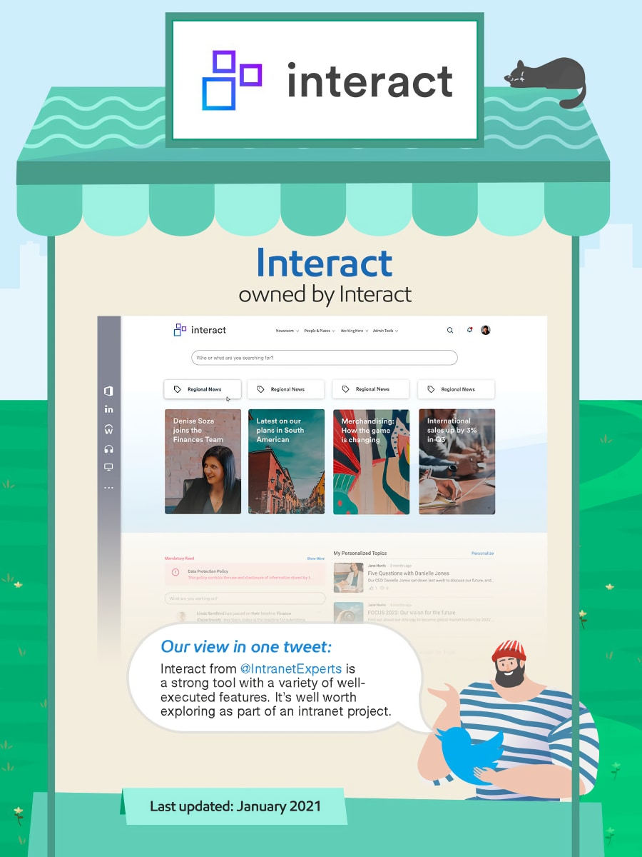 Interact intranet.
