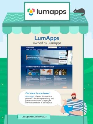 Lumapps intranet.