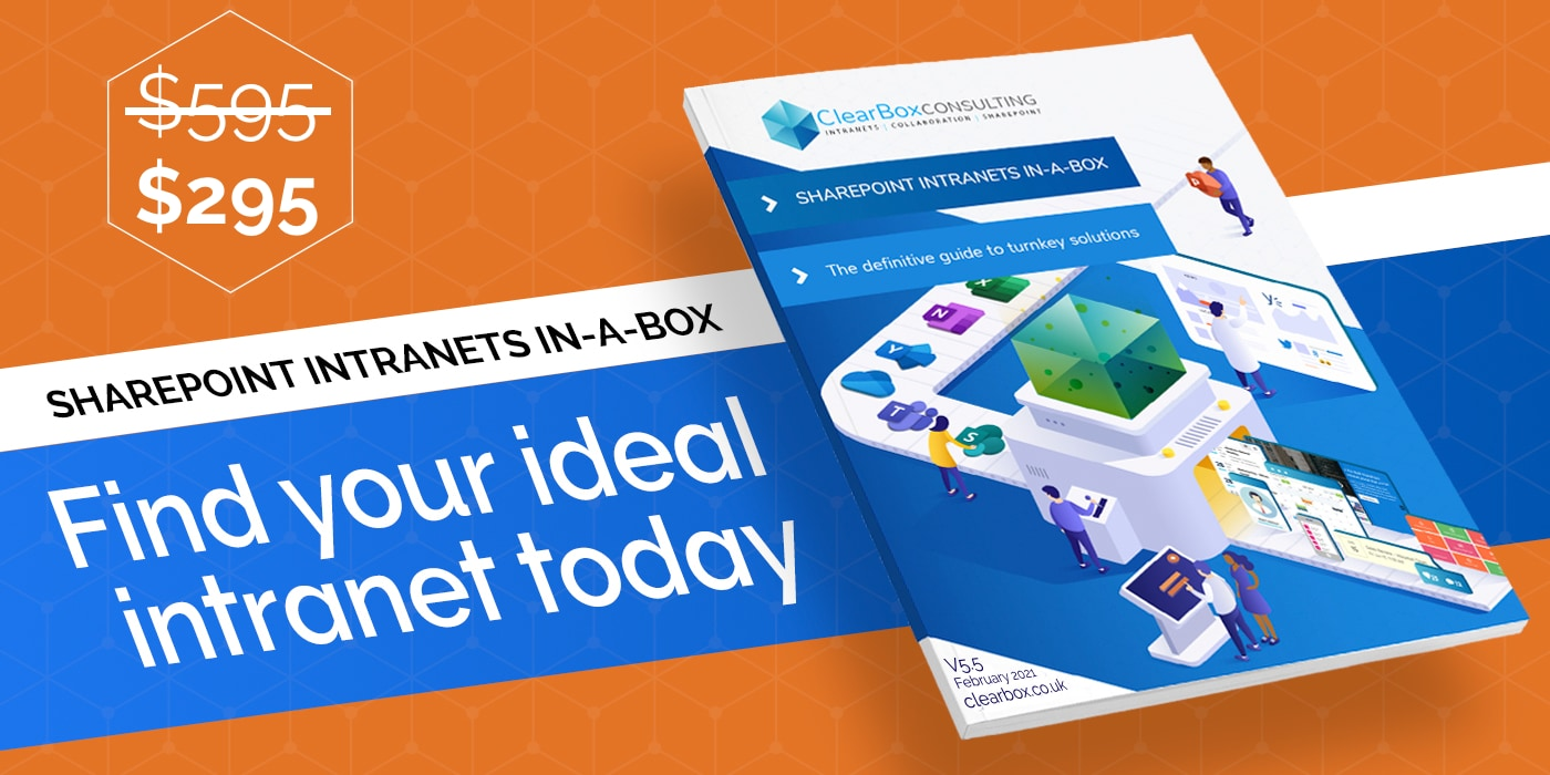 Was 595 now 295. Find your ideal intranet today.